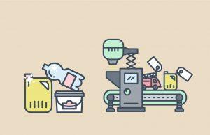 Affaldets vej i Kolding Kommune – illustrationer til animation