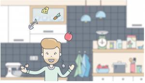 Animationsfilm til Kolding Kommune om genbrug og madaffald