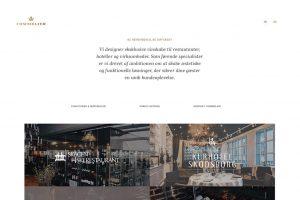 Webdesign til commelier.com