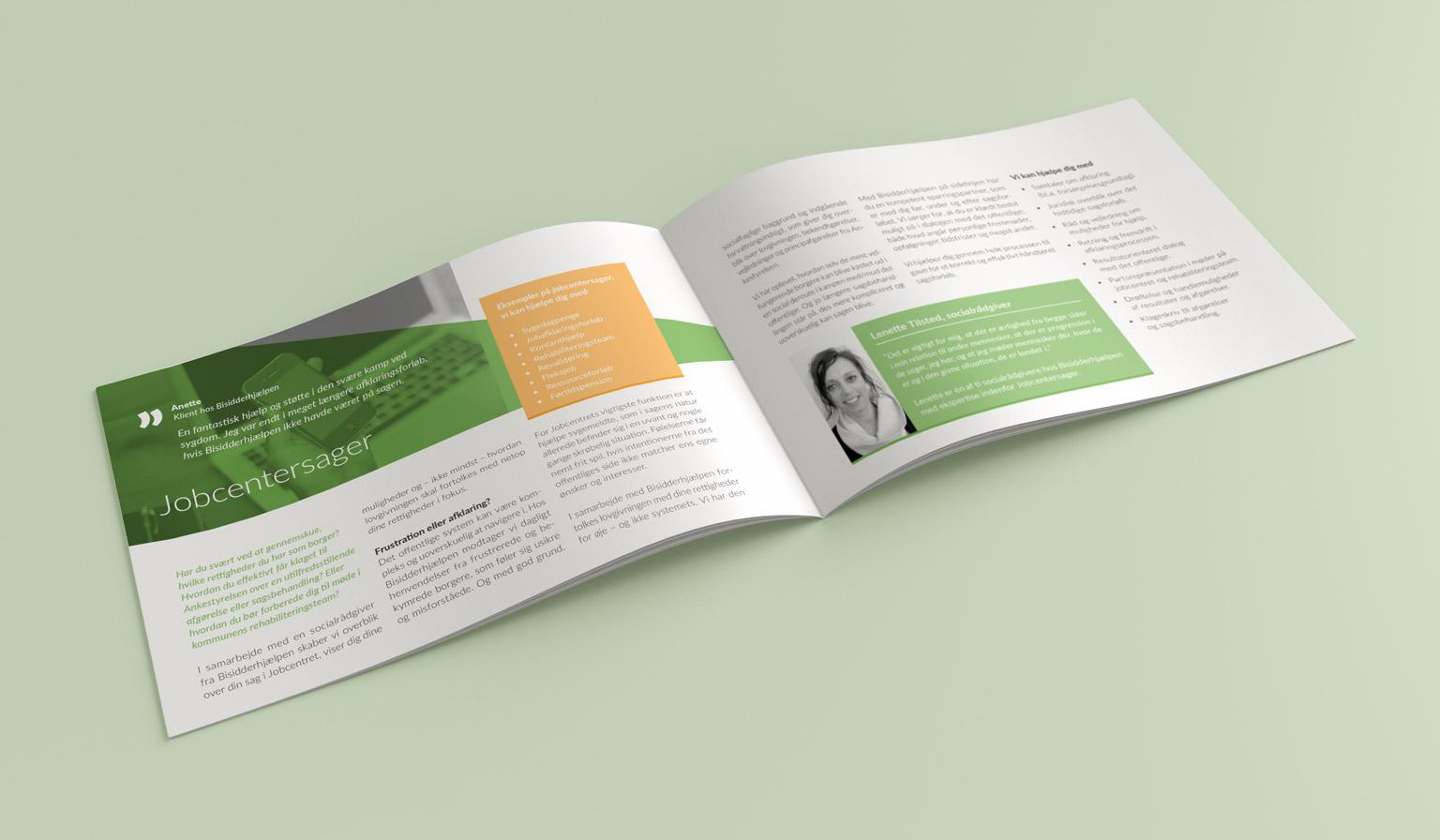 Brochure opslag